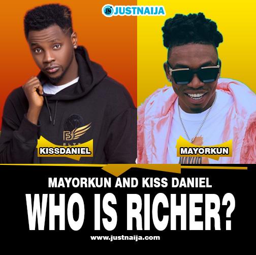 Mayorkun vs Kizz Daniel Who Is Richer?